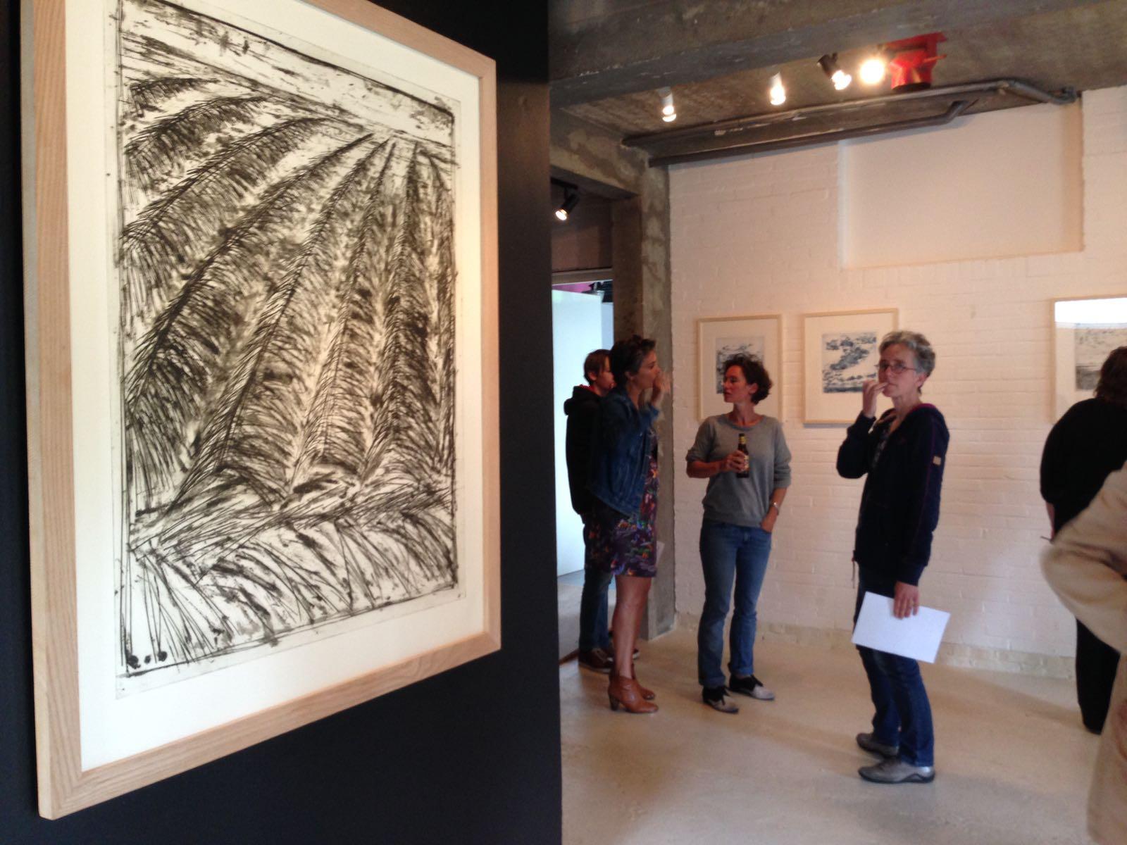tentoonstelling in galerie gewaagd